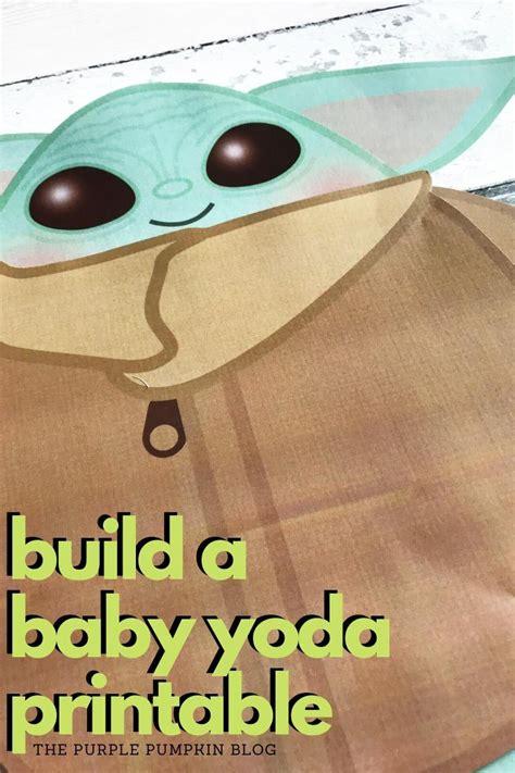build  baby yoda  printable    images