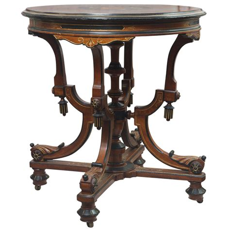 antique end tables for table with marquetry at 1stdibs 7474
