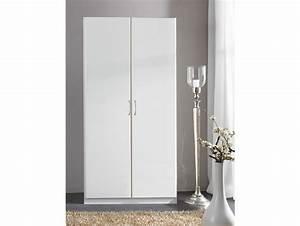 Kleiderschrank 2 Türig Weiß : swen kleiderschrank 2 t rig h175 weiss ~ Indierocktalk.com Haus und Dekorationen