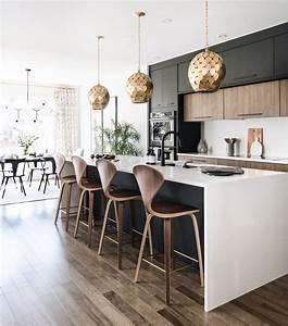 Nice, 20, Innovative, Black, White, Wood, Kitchens, Design, Ideas, More, At, S, Trendecora, Com, 2018