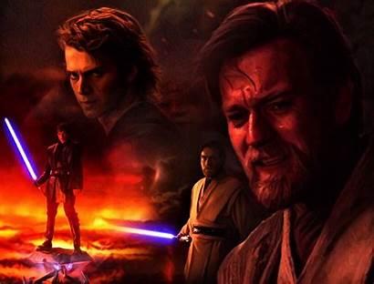 Obi Anakin Wan Kenobi Skywalker Wallpapers Vader