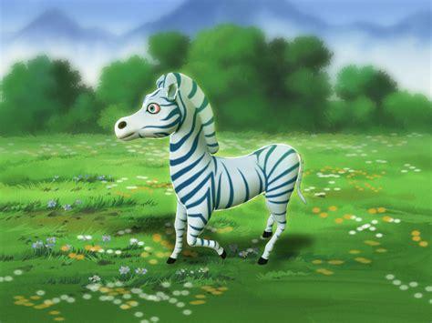 3d Cartoon Zebra Cgtrader