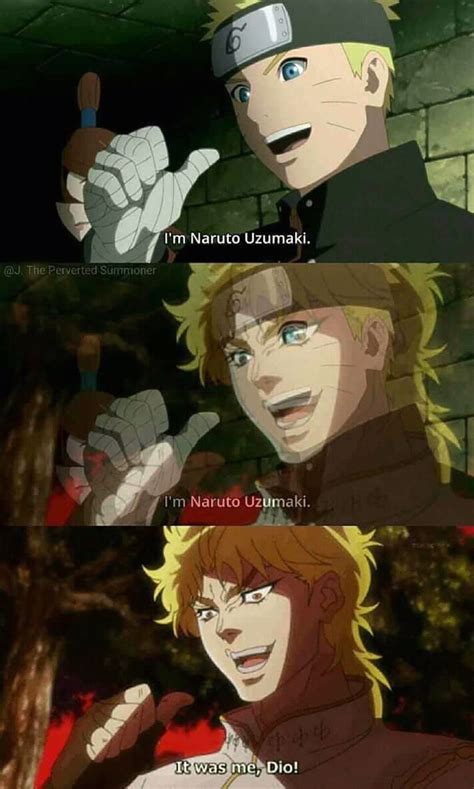 It Was Me Dio Animemes