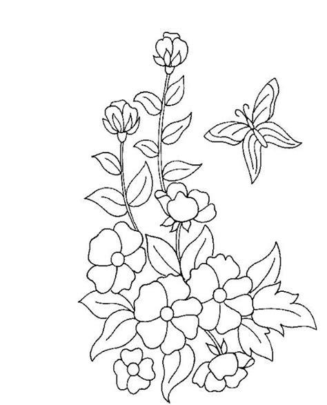 Ausmalbilder Blumen Ranken Kostenlos  Malvorlagen Zum