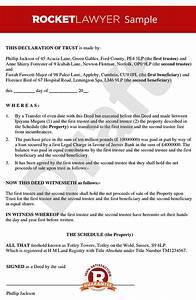 declaration of trust tenants in common agreement deed With tenants in common agreement template