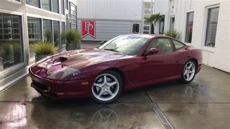 Due to the limited numbers of production, availability, and variety tends to vary as individual vehicles enter the market. 1999 Ferrari 550 Maranello at Park Place LTD - YouTube