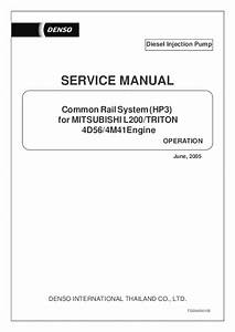 Pdf  Diesel Injection Pump Common Rail System  Hp3  For