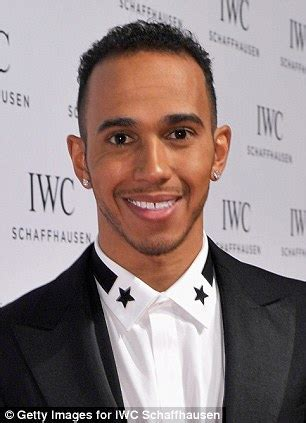 Lewis Hamilton and Ronan Keating boast about their