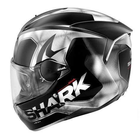 shark motocross helmets shark skwal trion motorcycle helmet black white led ebay