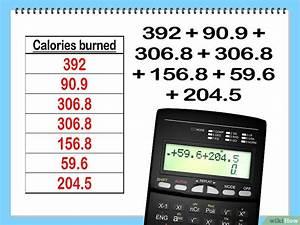 Kalorienbedarf Berechnen Formel : die verbrauchten kalorien pro tag berechnen wikihow ~ Themetempest.com Abrechnung