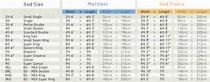 Emperor Bed Sizes Chart Low Tokyo Bed Get Laid Beds