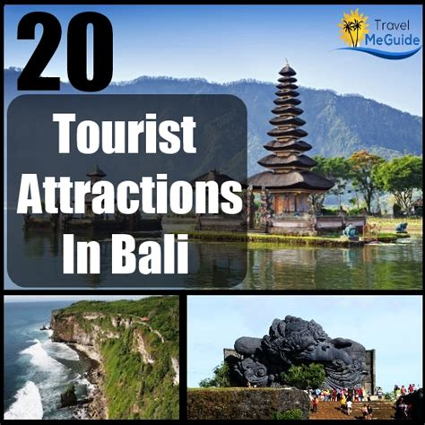 Top 20 Tourist Attractions In Bali  Travel Me Guide