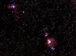 Great Orion Nebula, Horsehead Nebula, Flame Nebula ...