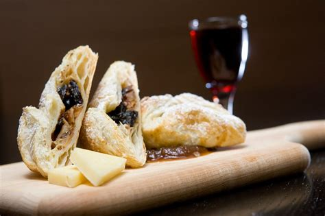 dried cherry apple almond turnovers  cabot sharp