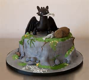 toothless cake topper isa 39 s toothless fury cake flickr photo
