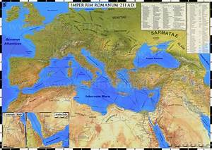 Map Of Roman Empire During Time Of Maximum Expansion