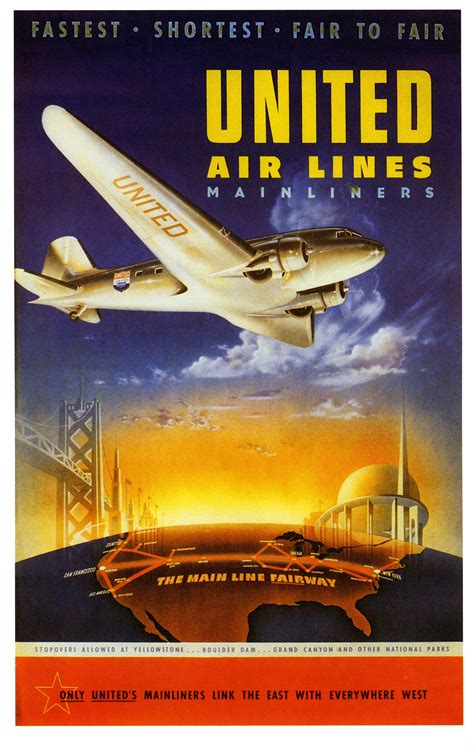 united air lines  flashbak