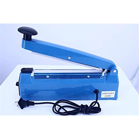 mm impulse manual bag sealer heat sealing machine poly tubing plastic  ebay