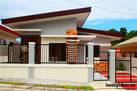 pin  investing  davao   houses  davao city philippines   modern bungalow