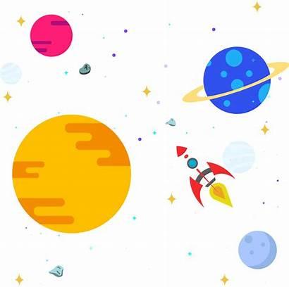 Space Outer Clipart Solar System Transparent Universe