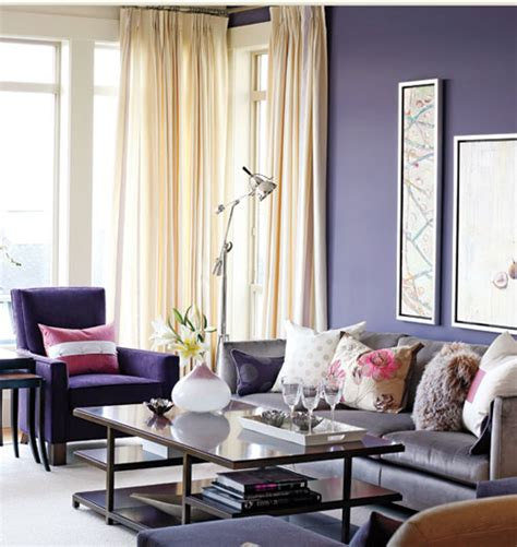 purple living room pet friendly home decor color therapy part 9 indigo