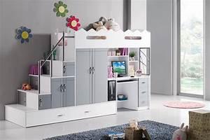 Chambre Enfant Blanc : comment choisir un meuble de bureau pour enfant en tribu ~ Teatrodelosmanantiales.com Idées de Décoration