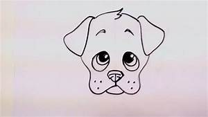 Drawing a Cute Cartoon Puppy Face | Curious.com