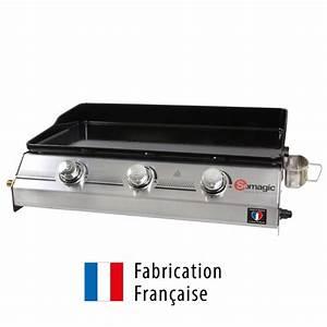 Plancha Fabrication Française : d couvrez la plancha gaz somagic made in france 74 x 51 cm ~ Premium-room.com Idées de Décoration