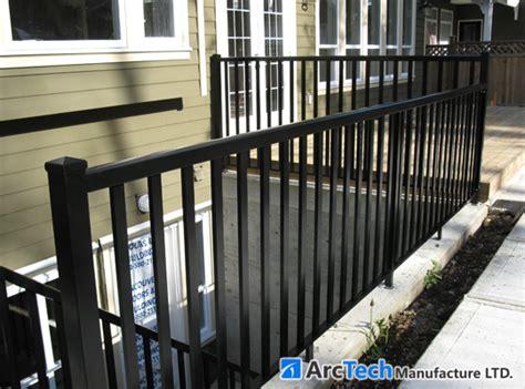 aluminum railing fences