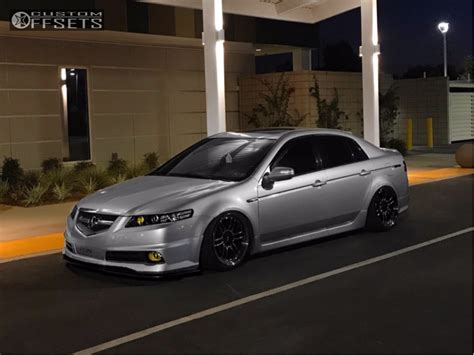 acura tl enkei rpf airforce air suspension