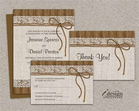 31 Rustic Diy Home Decor Projects: 31 Images Rustic Wedding Invitation Sets Ideal