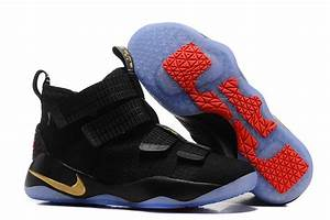 Nike LeBron Soldier 11 Black Gold Finals PE 2017 | New ...