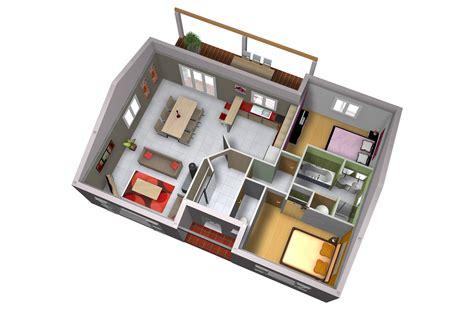 Plan De Maison Moderne Origan