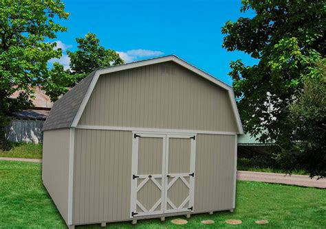 Large Barn Kits by Cottage Co Classic Large Barn Precut Kit 16 X 30