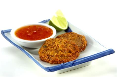 50 and easy canapes thai fish cakes goodtoknow