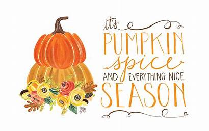 Pumpkin Desktop Spice October Fall Season Wallpapers