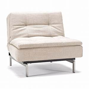 dublexo sofa bed in natural by innovation w steel legs With dublexo sofa bed