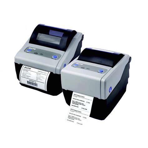 imprimante de bureau sato cg408 td 203 dpi imprimante de bureau parallèle