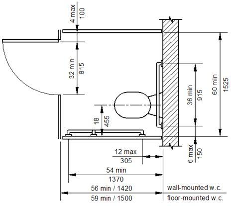 A Simple Bathroom Stall Dimension  Handy Home Design