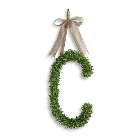 boxwood monogram letter monogram letters macrame plant hanger monogram