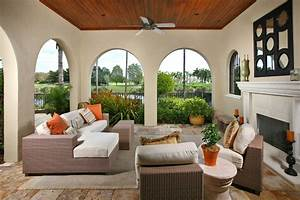 florida room furniture Family Room Contemporary with