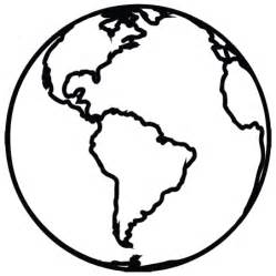 Planet Earth Outline