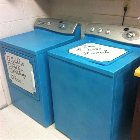washer  dryer revamped   favorite color easy