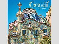 Gaudi Calendar 2019 Calendar Club UK