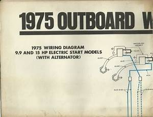 Johnson Marine Boat 1975 Outboard Wiring Diagrams 9 9 15