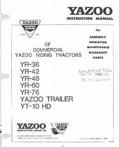 Yr-60 Manuals