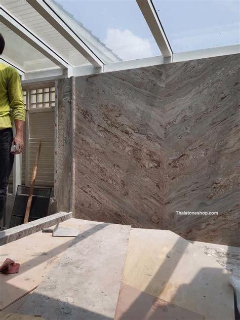 หินอ่อน Copper bronze งานติดตั้งผนังห้องน้ำ   หินอ่อน, หิน ...
