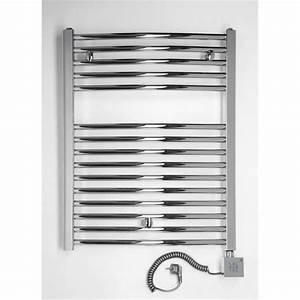 chauffage electrique droit pour salle de bain c achat With puissance radiateur salle de bain