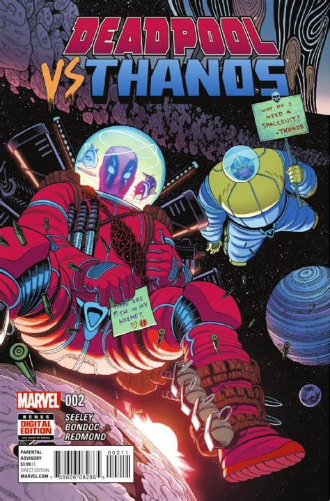 Preview Deadpool Vs Thanos #2 Allcomiccom