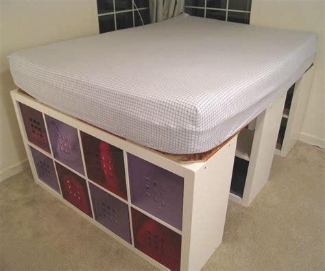Raised Platform Bed Frame Best Of Homemade Beds Room